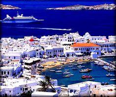 Mykonos, Greece part of our 30th Anniversary Mediterranean Cruise