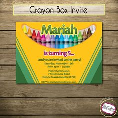 95 best crayola party images artist birthday party ideas party