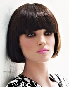 With the extreme details of the bangs and the forward jutting sides, this short bob is a league of its own. Description from nicehairstyles.org. I searched for this on bing.com/images