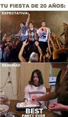 Expectativas vs realidad