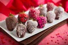 strawberries dipped in chocolate - Google Search