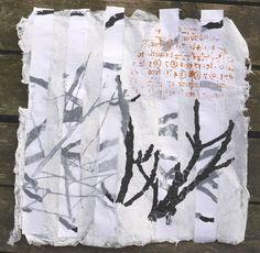 Handmade paper 60x60cm Helena Sellergren