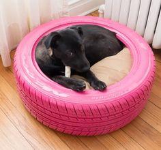 Se você encontrou ou tem pneus velhos em casa, saiba que eles podem sim ter muita utilidade! Confira!