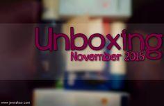 [UNBOXING] LivBox November 2015