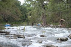 5. No Texas experience would be complete without tubing in the rapids of the mighty Guadalupe River!
