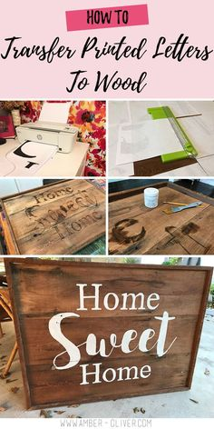This trick will help you create custom wood signs quickly and easily!