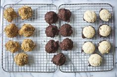 Chocolate Macaroons 1 cup unsweetened shredded coconut 2 tablespoons cocoa powder pinch of salt 2 tablespoons + 2 teaspoons coconut oil 2 tablespoons agave nectar 1 1/2 teaspoons vanilla extract 1 tablespoon full fat coconut milk