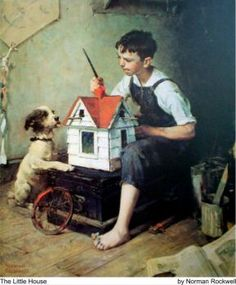 Norman Rockwell -The Little House (30 pieces)