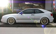 VW Corrado on rims