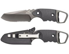 Gerber Epic....I have this knife,  it's a good knife except the belt clip,  breaks to easy