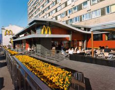 McDonald's Russia - Pushkin Square. The flagship restaurant is still one of the largest McDonald's in the world, with 900 seats and 26 cash registers!    #mcdonalds #mcdonald's