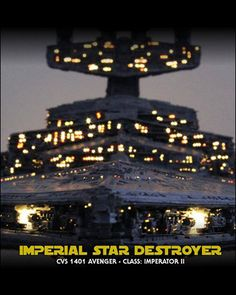 [Star Wars] Imperial Star Destroyer (Built by Maxx Replicas)