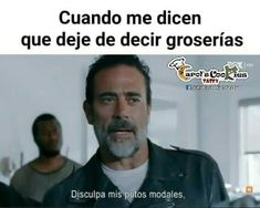 Read 143 from the story Memes De TWD by Mysteryuwu (Alex💙) with 800 reads. The Walking Ded, Walking Dead Funny, Fear The Walking Dead, Twd Memes, Funny Video Memes, Memes Humor, Spanish Memes, Funny Bunnies, Best Memes
