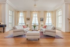 Värmvik Manor - Price Upon Request - Pricey Pads Living Room, Furniture, Room, House, Interior, Maine House, Home, Home Bedroom, Beautiful Homes