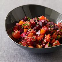 Roasted Beet and Orange Salsa