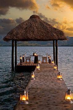 Dolphin Island tropical-modern retreat in Fiji -  Tropical summer beach vacation escape