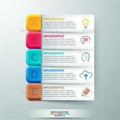 Modern Infographics Paper Template