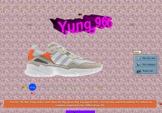 Adidas takes their website back to the with GIFs and all. I love the Under Construction section haha. Takes me back to those Geocities days