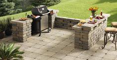 cinder block grill surround - Google Search