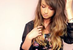 pictures ombre hair two tone celebrity inspired style hair and