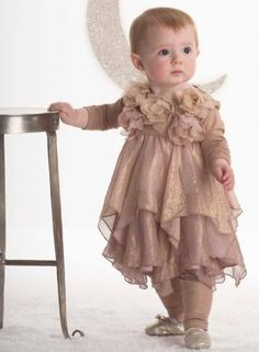 Biscotti Shimmering Rose Special Occasion Dress  at BabyMe.cc