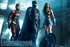 Justice League: Flash joins Batman, Wonder Woman in new photo