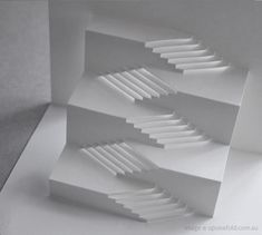 This Angel Steps card by Masahiro Chatani, the founder of Origamic Architecture