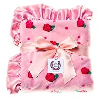 Peach Blossom Baby Blanket
