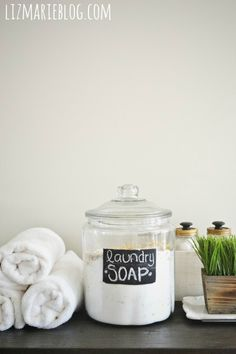 DIY Laundry Soap - One Year Review & Recipe -