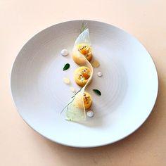 """좋아요 3,669개, 댓글 25개 - Instagram의 Gastro Art(@gastroart)님: """"Crab, coconut & apple salad. Amazing dish uploaded by @joshretzz #gastroart"""""""