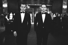 Harvey Specter and Mike Ross (Gabriel Macht and Patrick J. Adams)