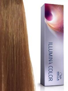 Wella Illumina Color # 8/37 Светлый блонд золотисто-коричневый Стойкая краска для волос 60 мл.