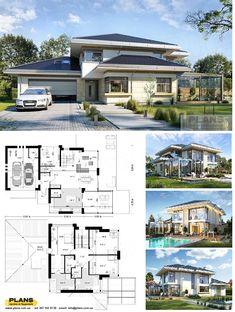 2bhk House Plan, House Plans Mansion, Model House Plan, House Layout Plans, Dream House Plans, Layouts Casa, House Layouts, House Outside Design, House Front Design