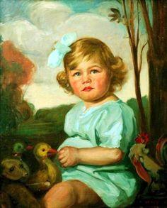 Izabella Faradi Veres (1884 – 1968, Hungarian) Beauty In Art, Portraits, Beautiful Pictures, Retro, Children, Illustration, Vintage, Painting Art, Baby