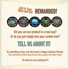 Tell Image3D your story about using their product and get a reward!
