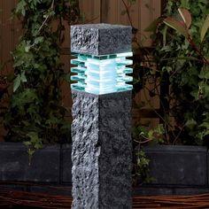 Techmar Plug and Play - Kolossos LED Garden Light Led Garden Lights, Contemporary Garden, Lighting System, Plugs, Victoria, Exterior, Corks, Outdoor Rooms