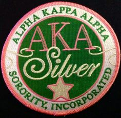 SILVER STAR PATCH Aka Sorority, Alpha Kappa Alpha Sorority, Sorority Gifts, Sorority And Fraternity, Zeta Phi Beta, Delta Sigma Theta, Letter Organizer, Divine Nine, Silver Stars