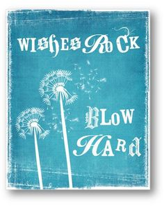 Wishes / Quote / 8x10 Digital Typography by ataglancegraphics, $10.00