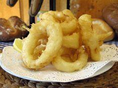 Tempura de calamares  | libroderecetas.com