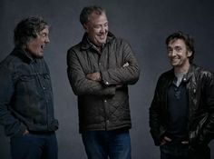 Richard Hammond, James May and Jeremy Clarkson of The Grand Tour UK.