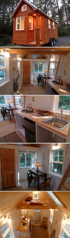 The Colonial tiny house from the Oregon Cottage Company