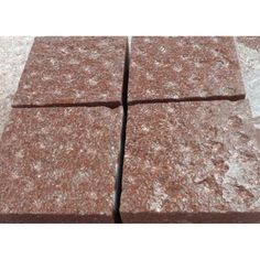 China Cheap Granite Red Porphyry Cube Stone For Exterior Floor Paving China Supplier Cobblestone Pavers, Patio Blocks, Driveway Paving, Engineered Stone, Granite, Natural Stones, Cube, Exterior, China