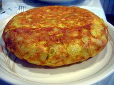 Spanska Tortilla