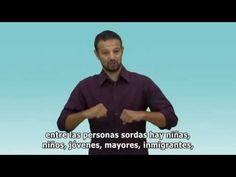 Manifiesto de la CNSE Dia Internacional de las Personas Sordas 2014 - YouTube