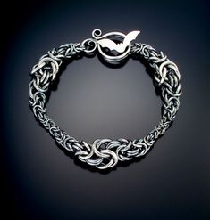 Julia Lowther, Jeweler - Flying Fox Jewelry - A Caress of Armor - another example of great texture use in chain mail