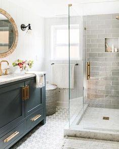 Bathroom Interior Design, Home Interior, Best Bathroom Designs, Cottage Bathroom Design Ideas, Interior Decorating, Decorating A Bathroom, Interior Ideas, Apartment Bathroom Design, Bathtub Designs
