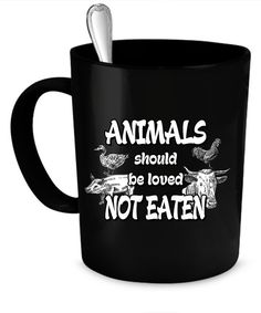 6a168fcf8d0 Vegan Coffee Mug 11 oz. Perfect Gift for Your Dad Mom Vegan Gifts