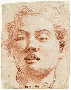 Sanguine et craie blanche par Giovanni Battista Tiepolo
