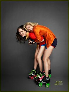 Ellen Page and Drew Barrymore