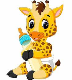 Cute Giraffe Cartoon Of Illustration Stock Photo, Picture And Royalty Free Image. Cartoon Cartoon, Cartoon Baby Animals, Cartoon Monkey, Cartoon Giraffe, Animals For Kids, Cute Baby Animals, Wild Animals, Cute Cartoon Pictures, Cute Pictures